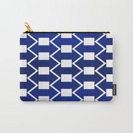 Gradient Blue Arrows Carry-All Pouch