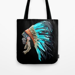 Blue Chief Tote Bag