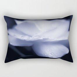 Sweet a beautiful Gardenia flower with water droplets Rectangular Pillow