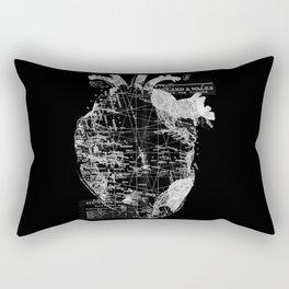 Heart Wanderlust Rectangular Pillow