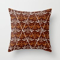 insect Throw Pillows featuring INSECT by tr1com