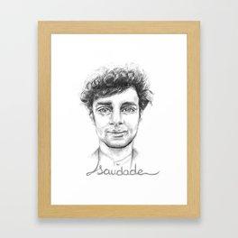 Saudade.3 Framed Art Print