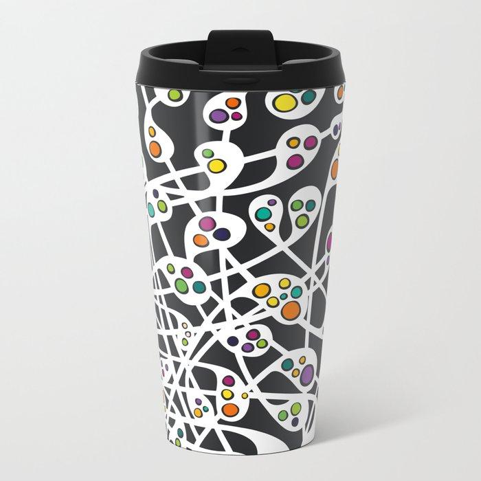 Microcosm I Metal Travel Mug