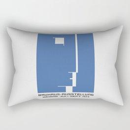 Bauhaus Ausstellung old remastered high resolution poster Rectangular Pillow