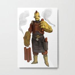 Bomb Man Metal Print