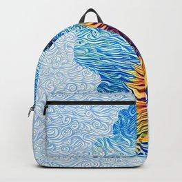 Lake Tahoe Sunflower Backpack