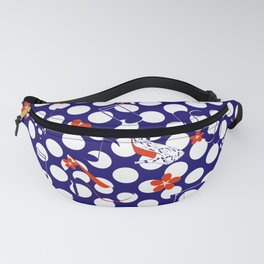 Rockabilly. Rock and roll design with high heels and music notes. Fanny Pack