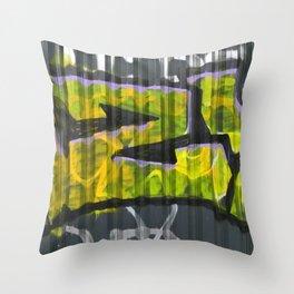 EISENBAHNBRÜCKE Throw Pillow