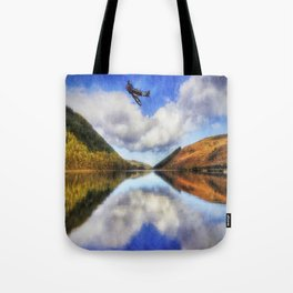 Spitfire Lake Flight Tote Bag