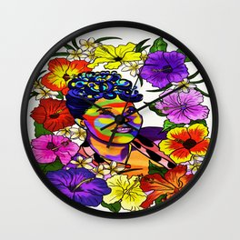 Ella Fitzgerald Jazz Legend Wall Clock