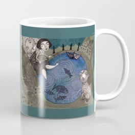 The Fish Pond Coffee Mug