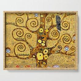 "Gustav Klimt, "" The tree of life "" Serving Tray"