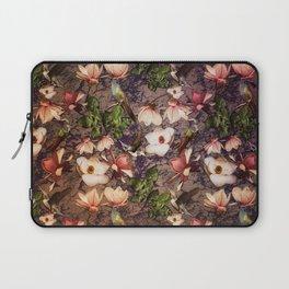 Magnolias and Hummingbirds Laptop Sleeve