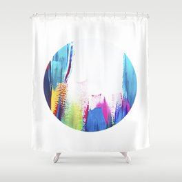 Dotty 2 Shower Curtain