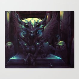 GODDESS OF WISDOM Canvas Print