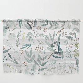 Eucalyptus pattern Wall Hanging