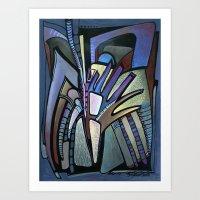 wings Art Prints featuring WINGS by Deyana Deco