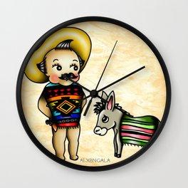 Mexican Kewpie Wall Clock