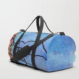 Jellyfish meet Jellyfish Duffle Bag