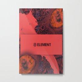 Elements original Metal Print