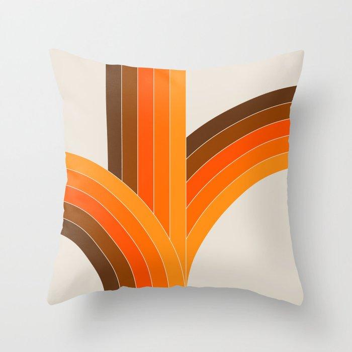 Bounce - Golden Throw Pillow
