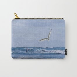 Terns diving into the sea Carry-All Pouch