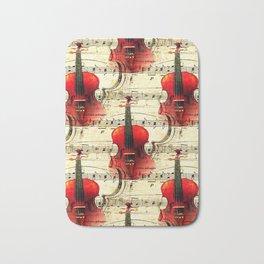 Violin Concerto Bath Mat