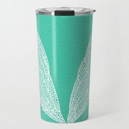 Cicada Wings – Turquoise Travel Mug