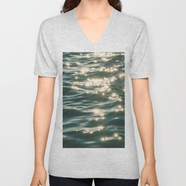 Ocean Sparkle Unisex V-Neck