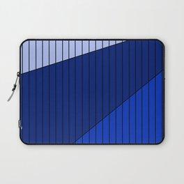 Blue Line Pattern 3 Colors Laptop Sleeve
