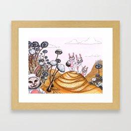 Picnic! Framed Art Print