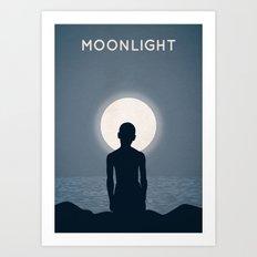 Moonlight Alternative Poster Art Print