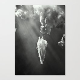 Clouds 15.1 Canvas Print