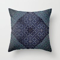 dna Throw Pillows featuring DNA by Sheldon Henry