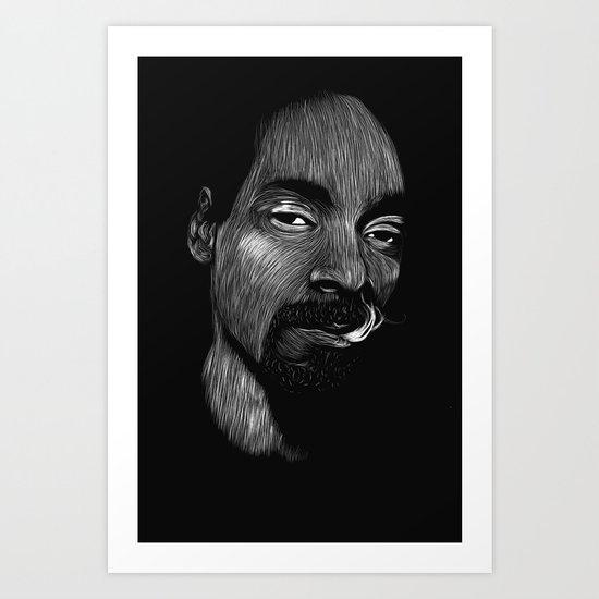 Snoop Dogg Art Print