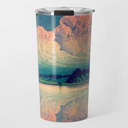 Admiring the Clouds in Kono Travel Mug