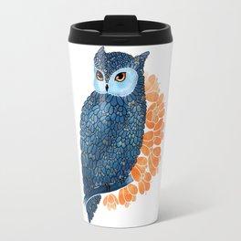 Blossoming owl Travel Mug