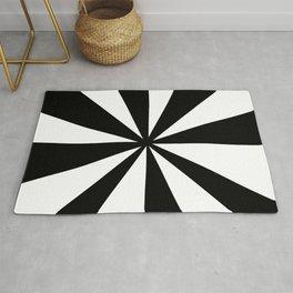 optical pattern 44 Rug