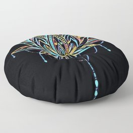 Pastel Lotus Floor Pillow
