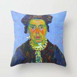 """Alexej von Jawlensky """"Breton woman"""" 1905 Throw Pillow"""