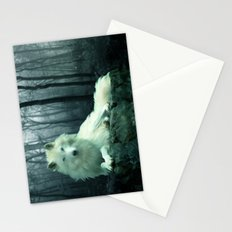 Arctic Wolf Stationery Cards