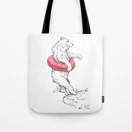 Summer Bear Tote Bag
