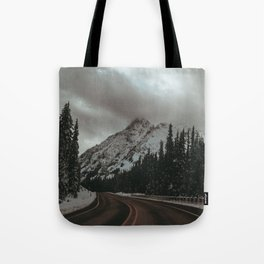 Mountain Road Tote Bag
