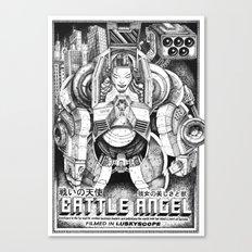 Battle Angel Canvas Print