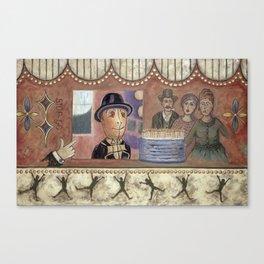 Envy and Surprise Canvas Print