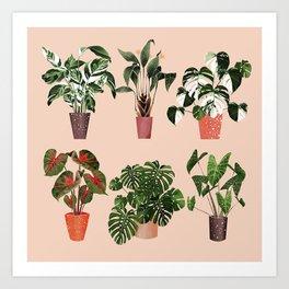 Plantgang Art Print