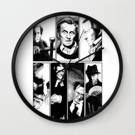 Cushing Horrors Wall Clock