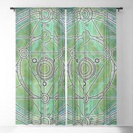 Mysterious Rune Sheer Curtain