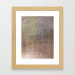 metal 1 Framed Art Print
