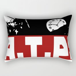 A.T.P.! Anti Time-Theft Party - The Time is Now! Rectangular Pillow